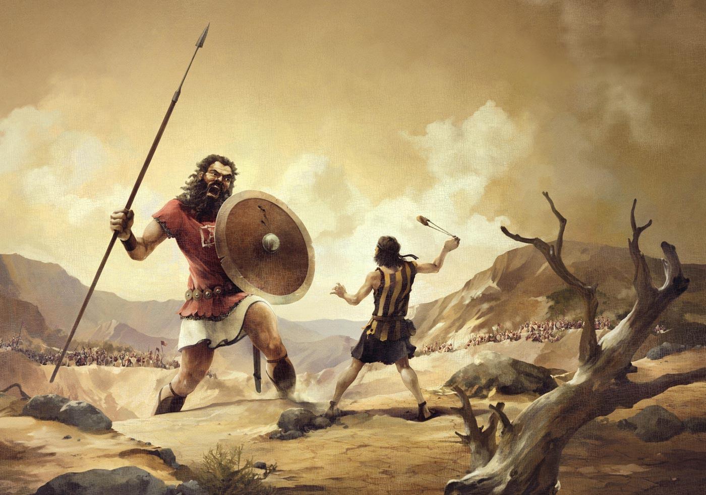 Quando Davi, o matador de gigantes, foi a júri