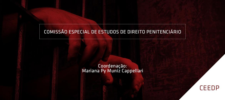 Inscrições abertas: Comissão Especial de Estudos de Direito Penitenciário