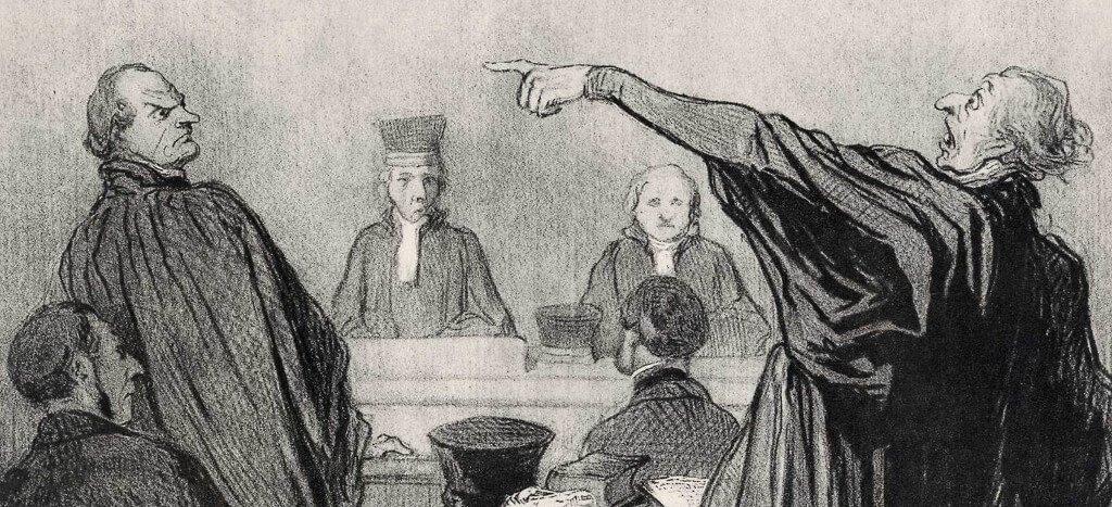 O primeiro júri de um jovem advogado