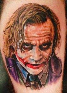 tatuagem coringa