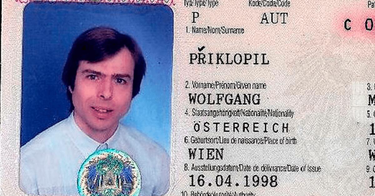 O sequestrador: Wolfgang Přiklopil