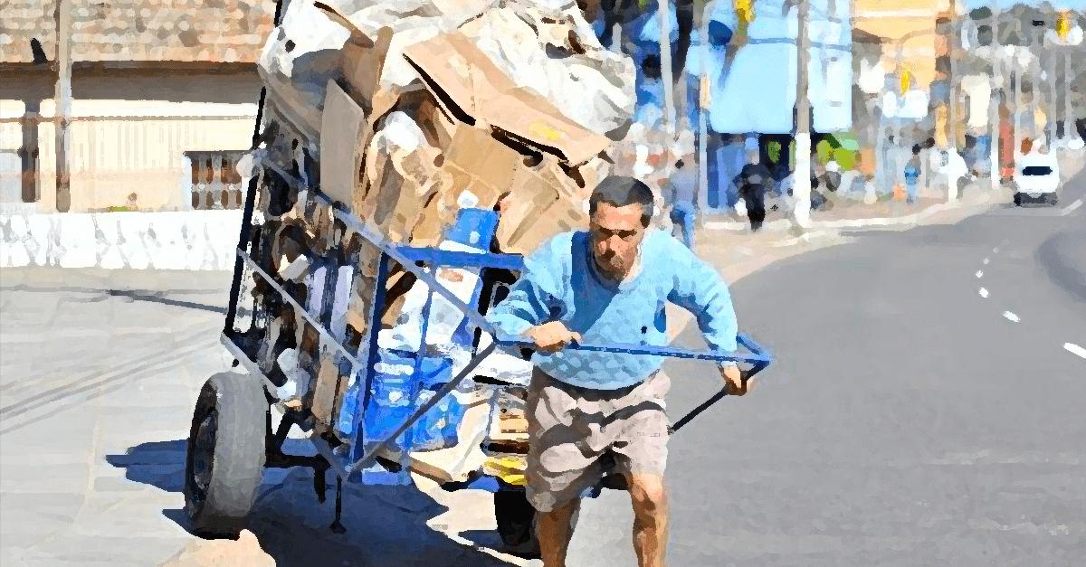 O papeleiro e o motivo fútil