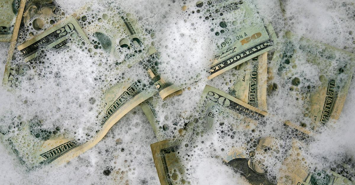 Tipos de lavagem de dinheiro e o dever de comunicação