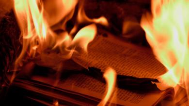 livros de direito fossem queimados