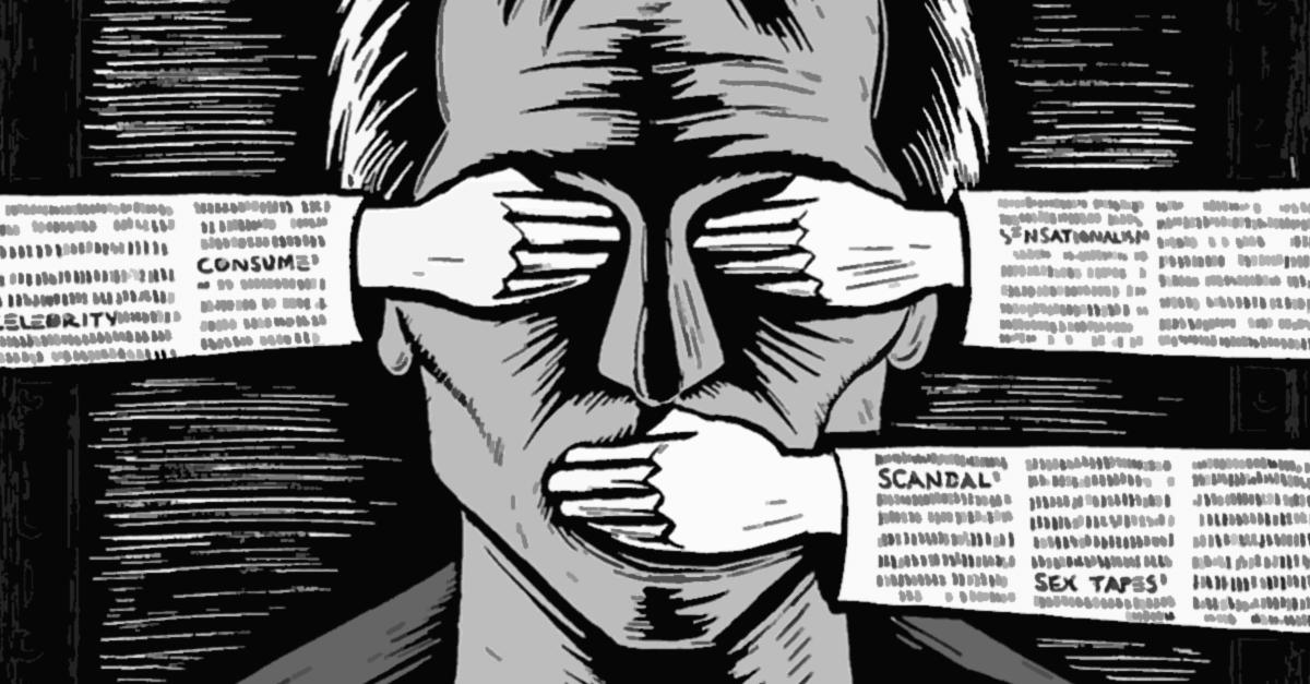 A liberdade de expressão em risco
