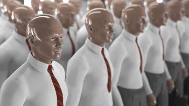 substituídos por robôs