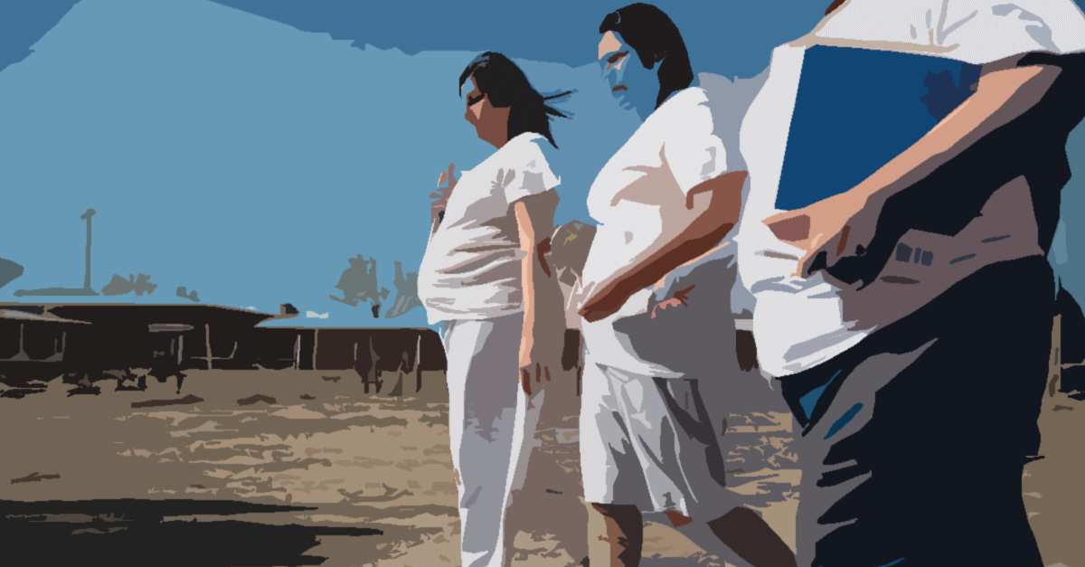 Progressão de regime da mulher gestante, mãe ou responsável por crianças ou pessoas com deficiência