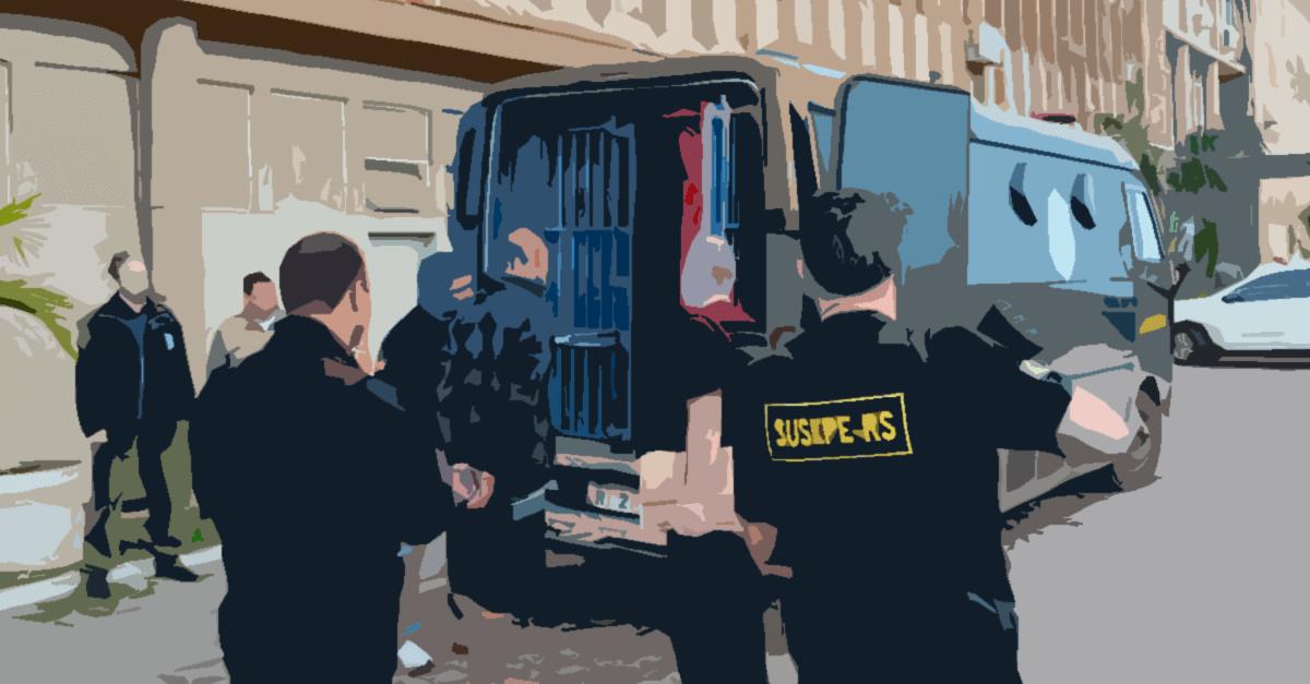 Oitiva das testemunhas de acusação e a ausência do réu preso