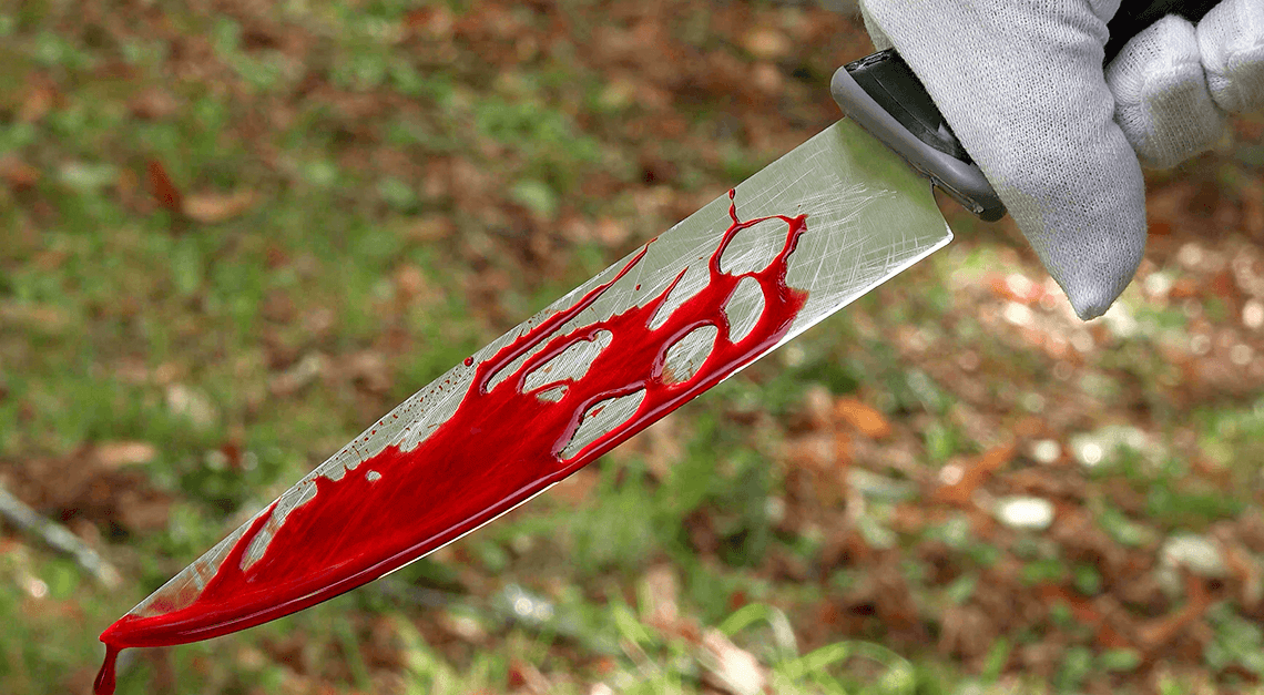 divulgar cenas de crime violento