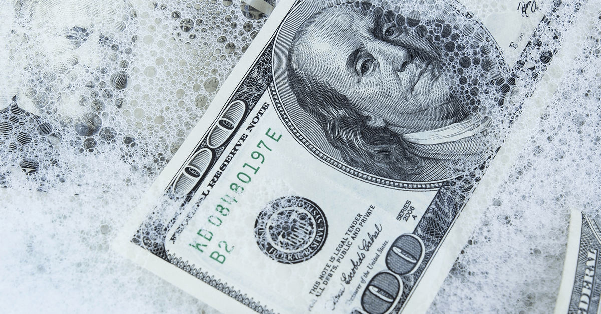 Lavagem de dinheiro ou exaurimento do crime anterior?