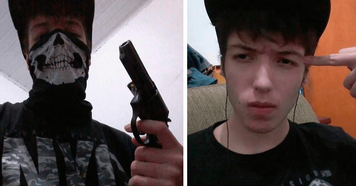 Atirador postou fotos com arma minutos antes do massacre em Suzano