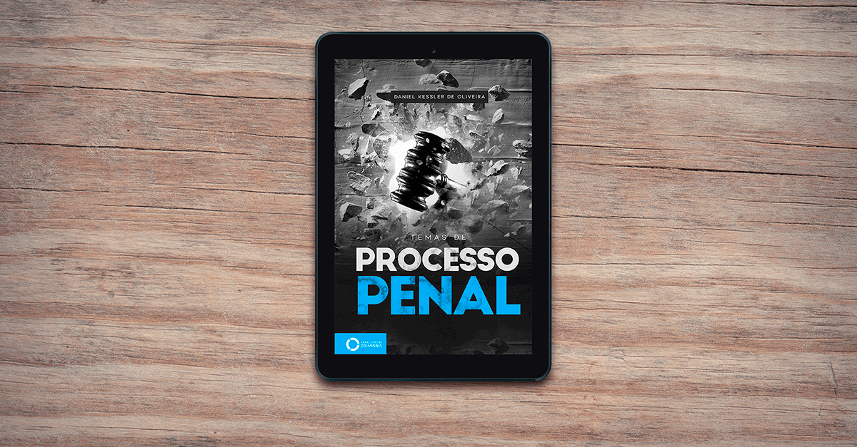 Lançamento: Temas de Processo Penal (eBook)