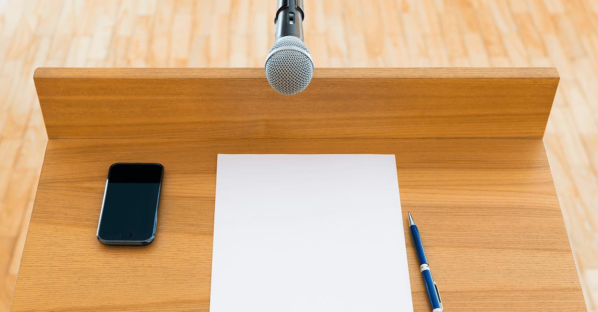 O orador de tribuna: dom ou técnica?