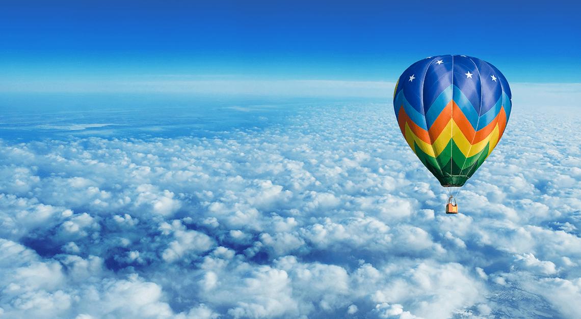 crime ocorrido a bordo de balão