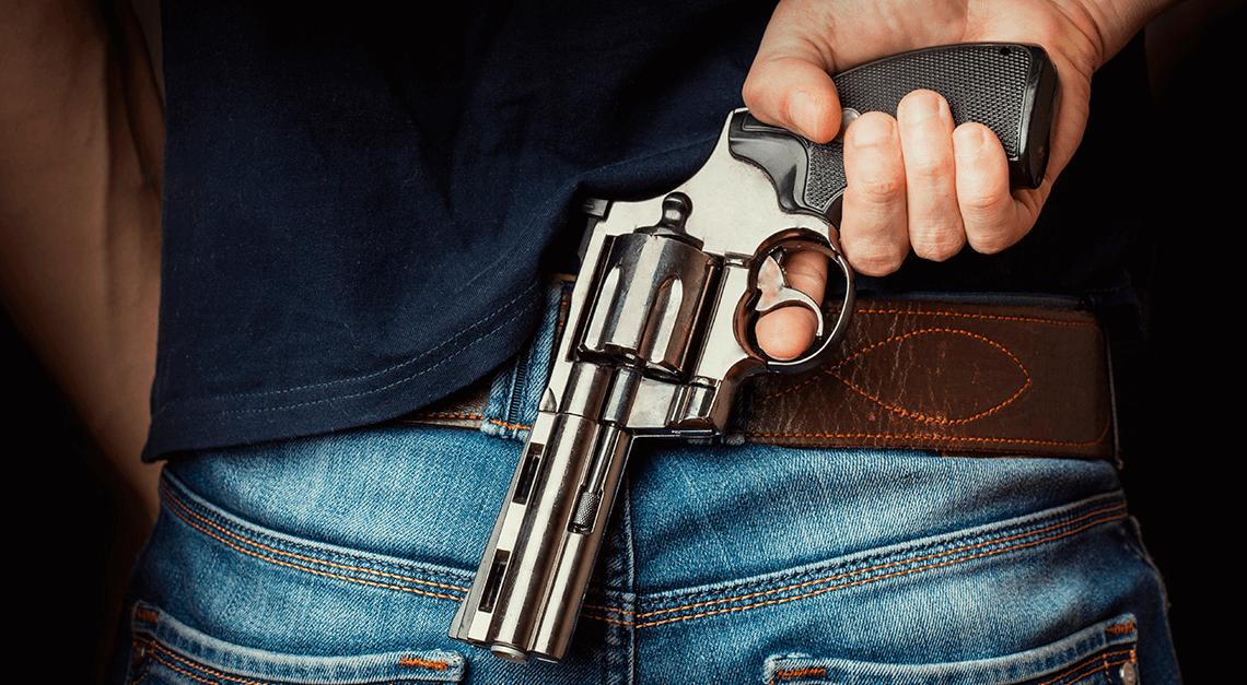 armas de fogo de uso restrito