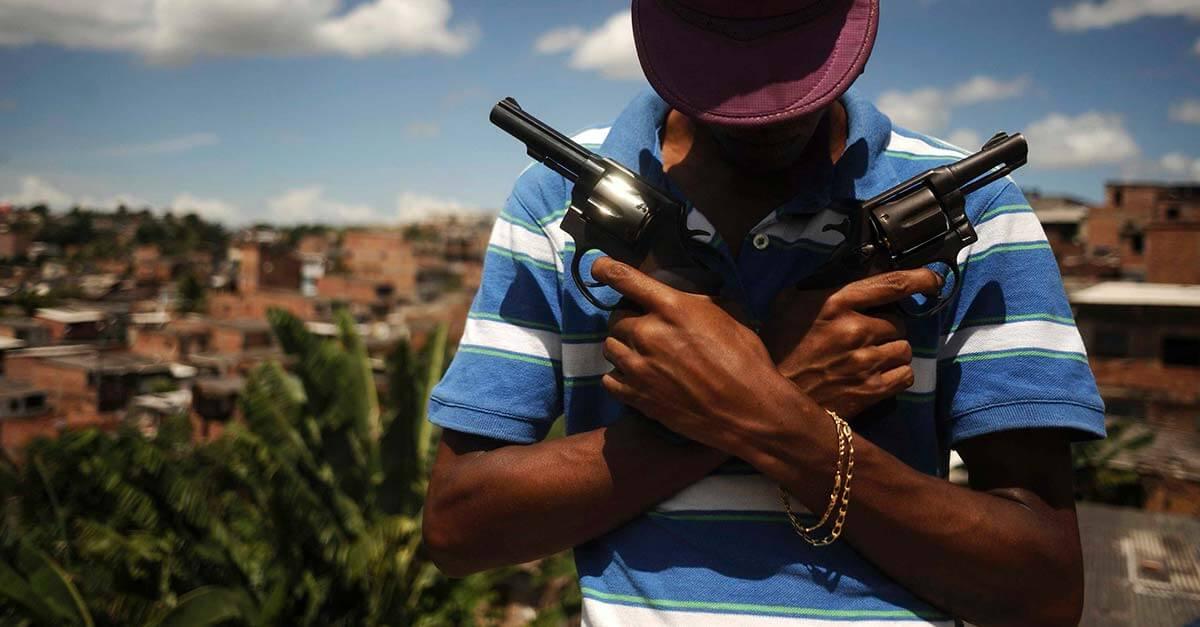 Brasil teve mais de 65 mil homicídios em 2017, revela Atlas da Violência