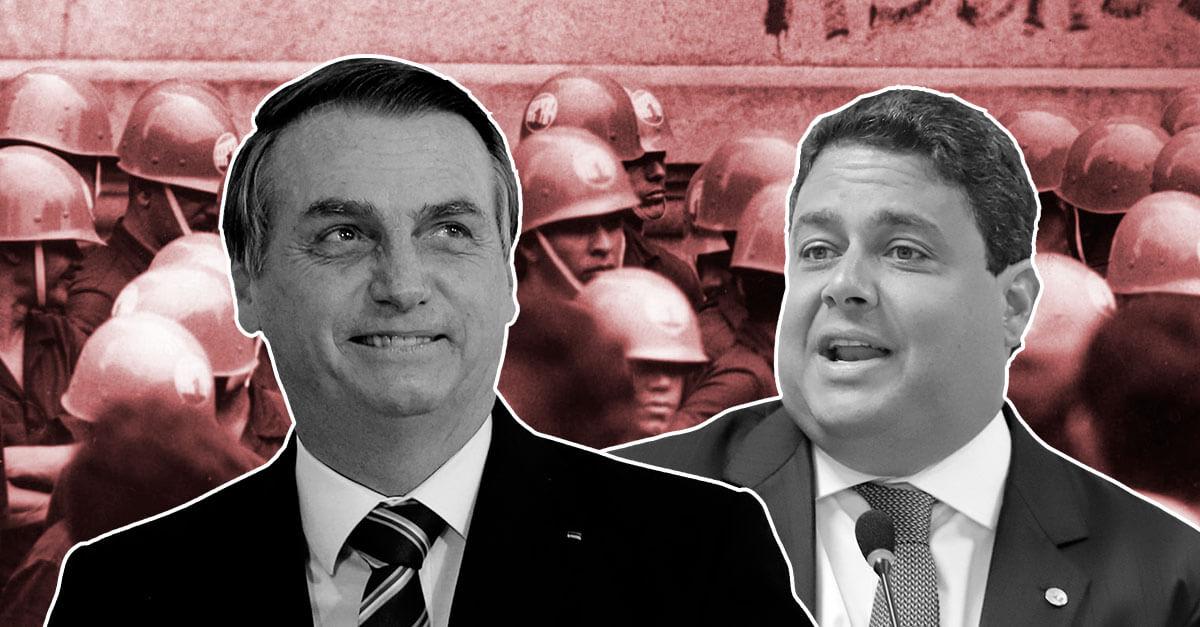 Bolsonaro: 'Se o presidente da OAB quiser saber como o pai desapareceu no período militar, eu conto'