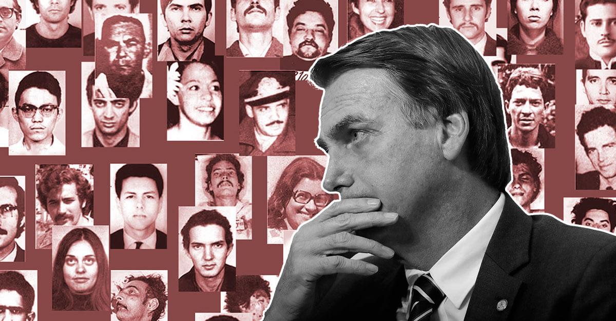 Bolsonaro sobre mortes na ditadura: 'você acredita em Comissão da Verdade?'