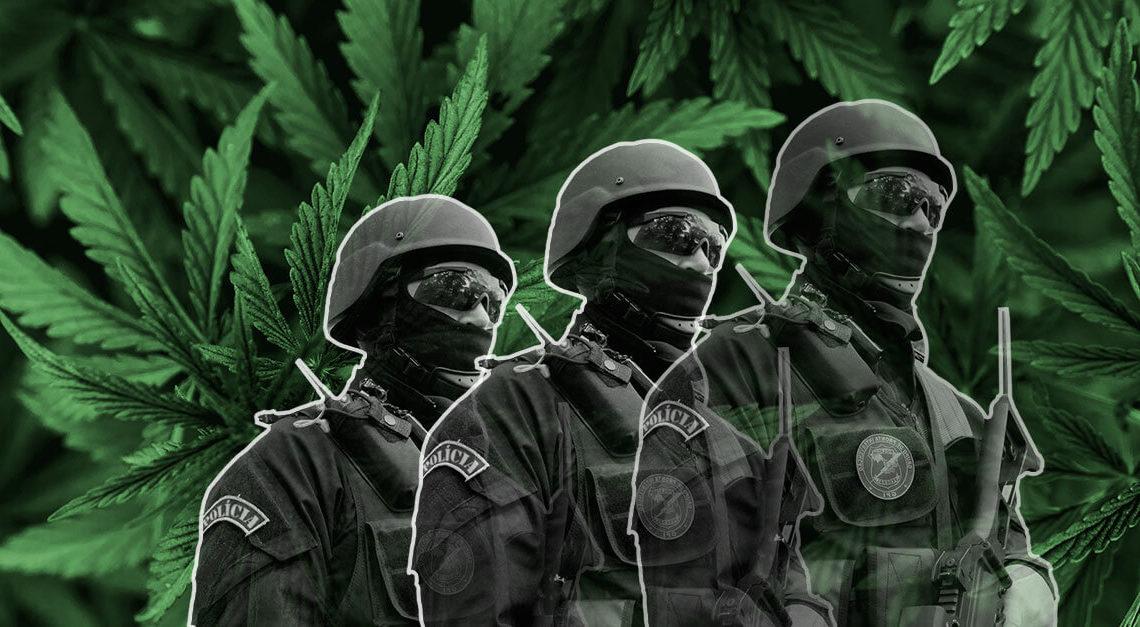O tráfico de drogas é o grande problema