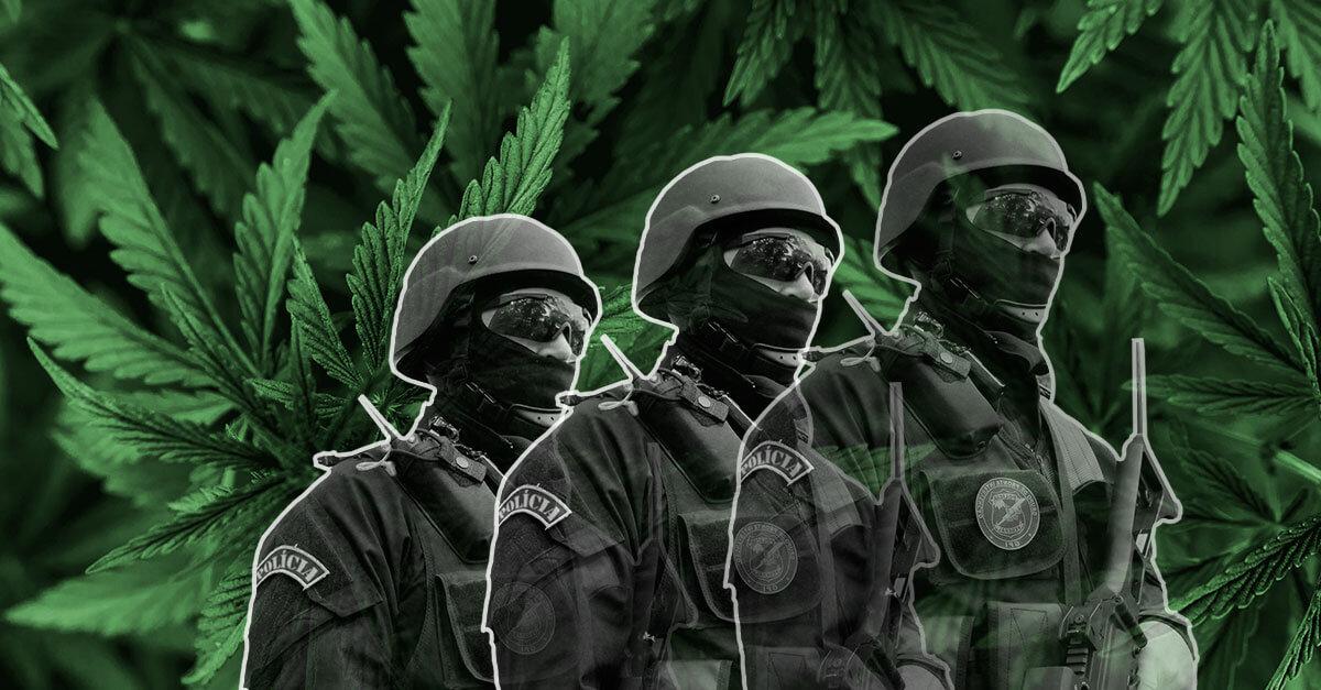 O tráfico de drogas é o grande problema do Brasil