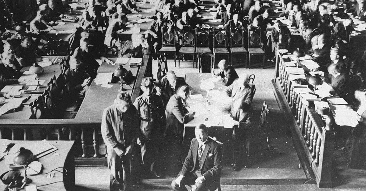 Os julgamentos do Tribunal de Leipzig