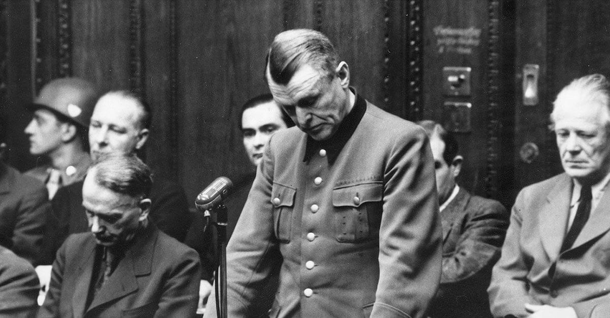 Os julgamentos do Tribunal de Nuremberg