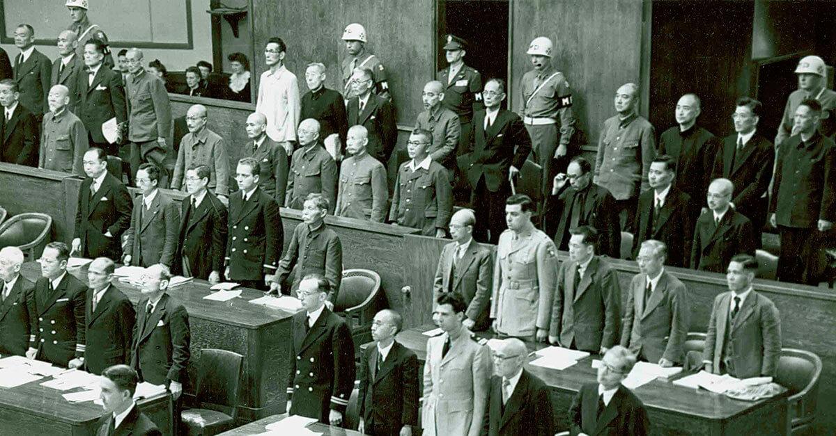 Os julgamentos do Tribunal Militar do Extremo Oriente (Tribunal de Tóquio)