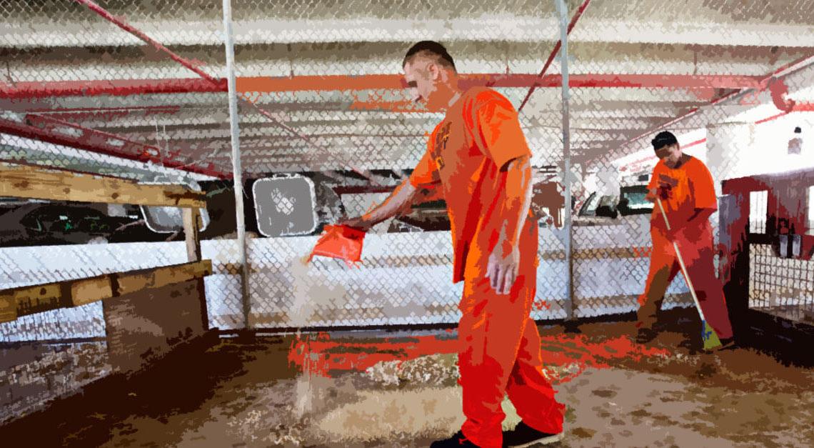 o trabalho do preso