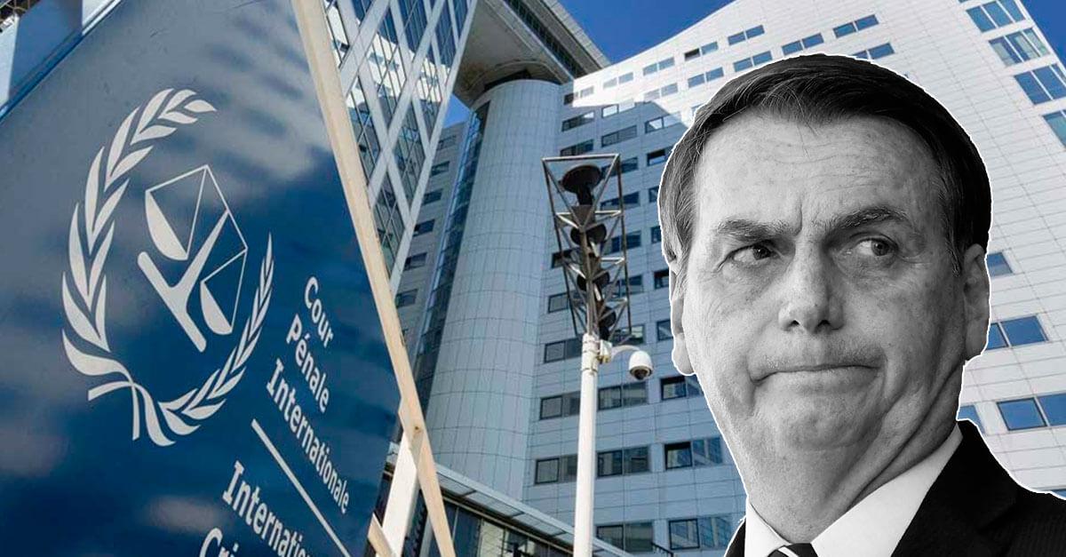 Bolsonaro pode virar réu por crimes contra a humanidade
