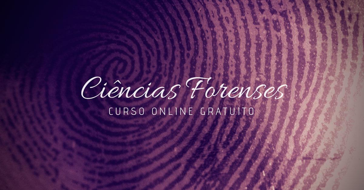 Ciências Forenses (curso online gratuito)