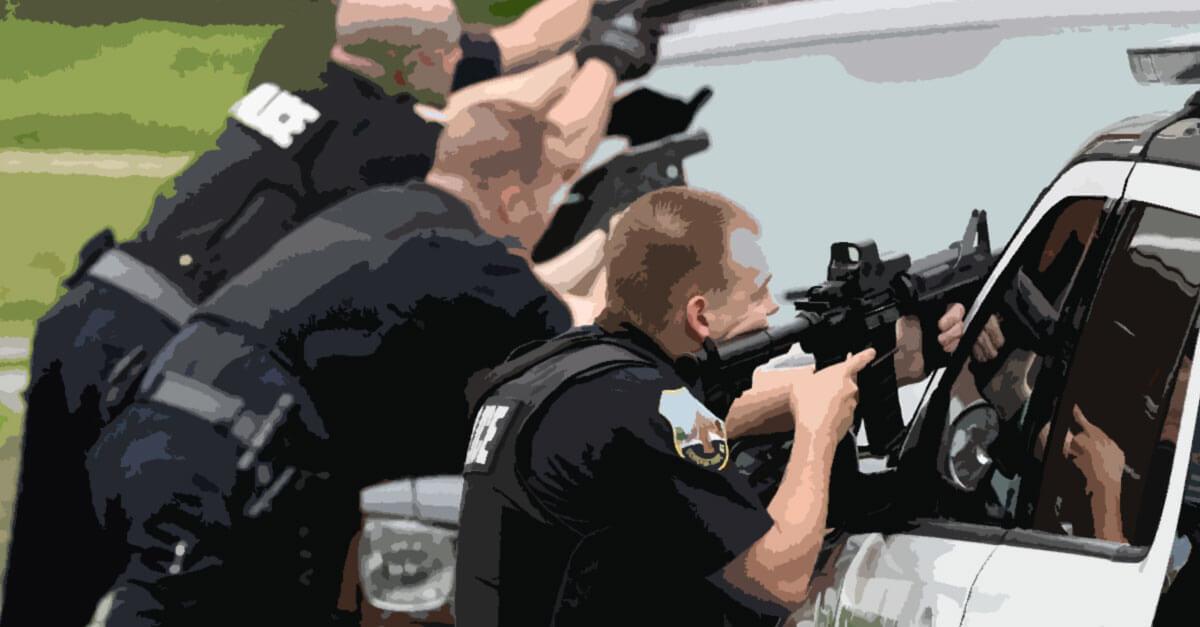 Tentativa de homicídio contra policiais