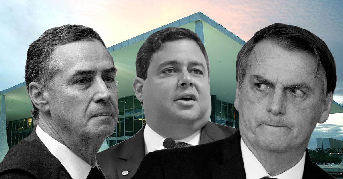Ministro Barroso arquiva interpelação de Felipe Santa Cruz contra Jair Bolsonaro