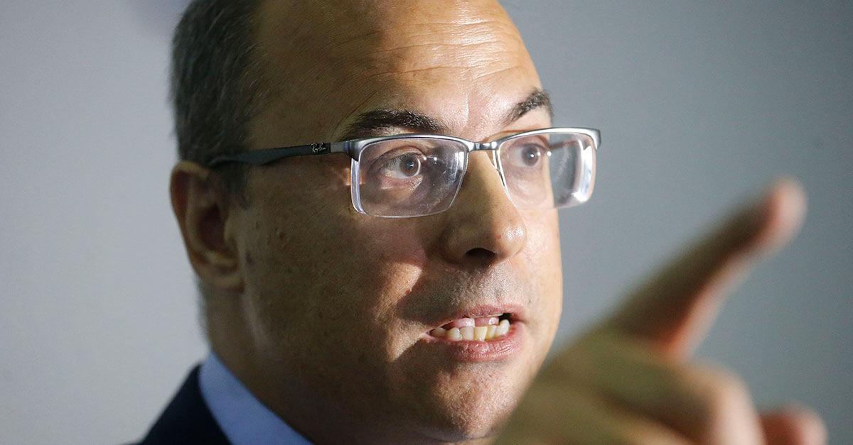 Usuários de drogas devem ser condenados a catar lixo, defende Witzel
