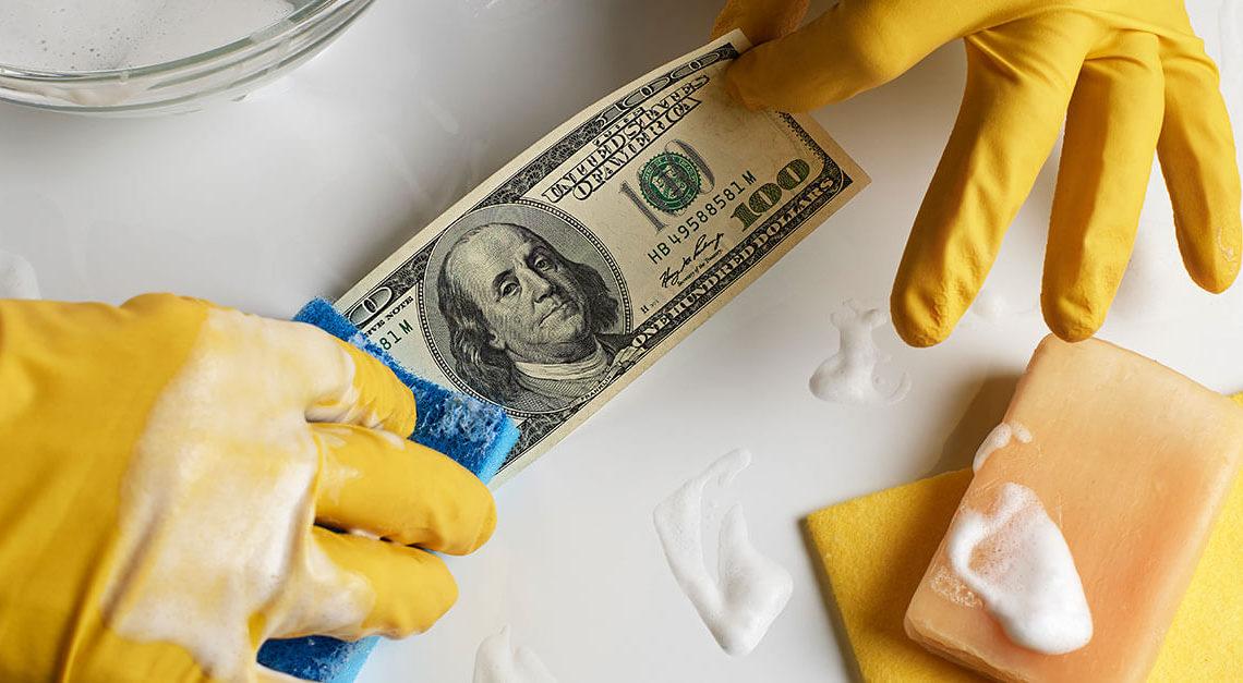 o que é lavagem de dinheiro