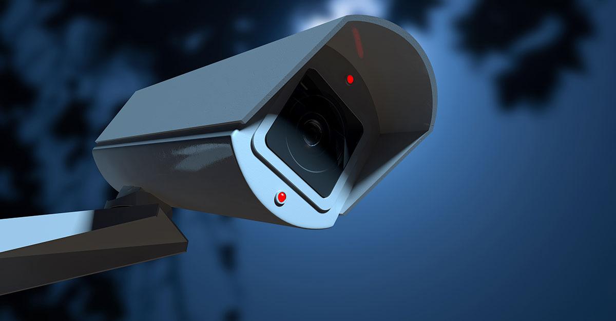 Furto e sistema de vigilância