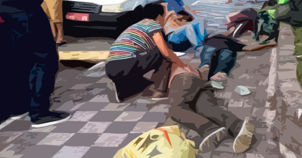 O caso de envenenamento dos moradores de rua em Barueri