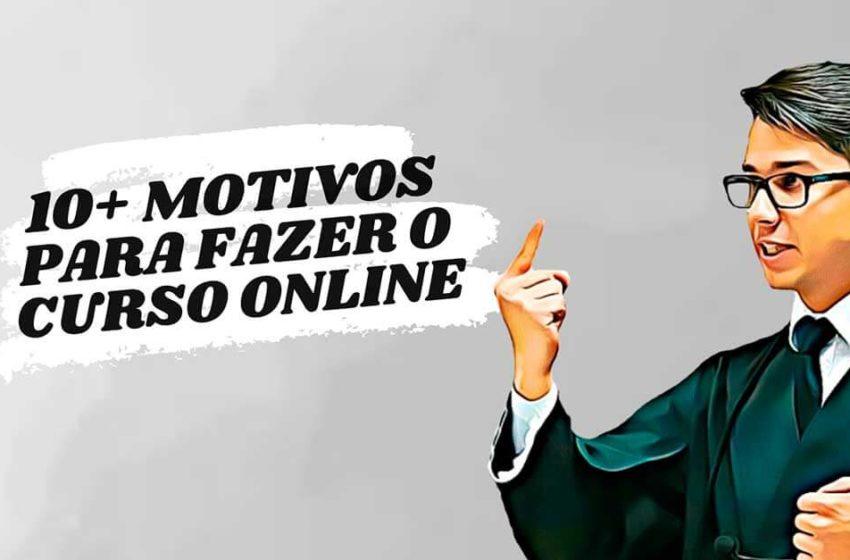 10+ motivos para fazer o curso online Júri na Prática