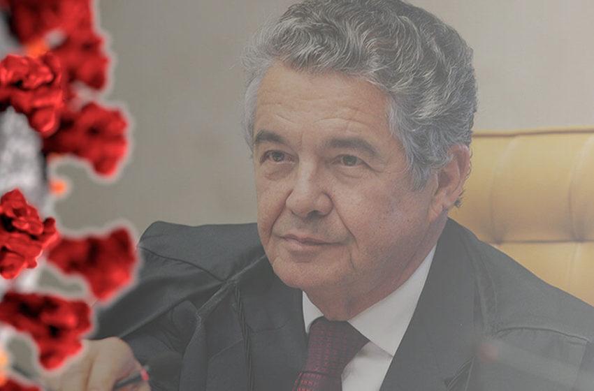 Marco Aurélio faz recomendações para evitar propagação do coronavírus nos presídios