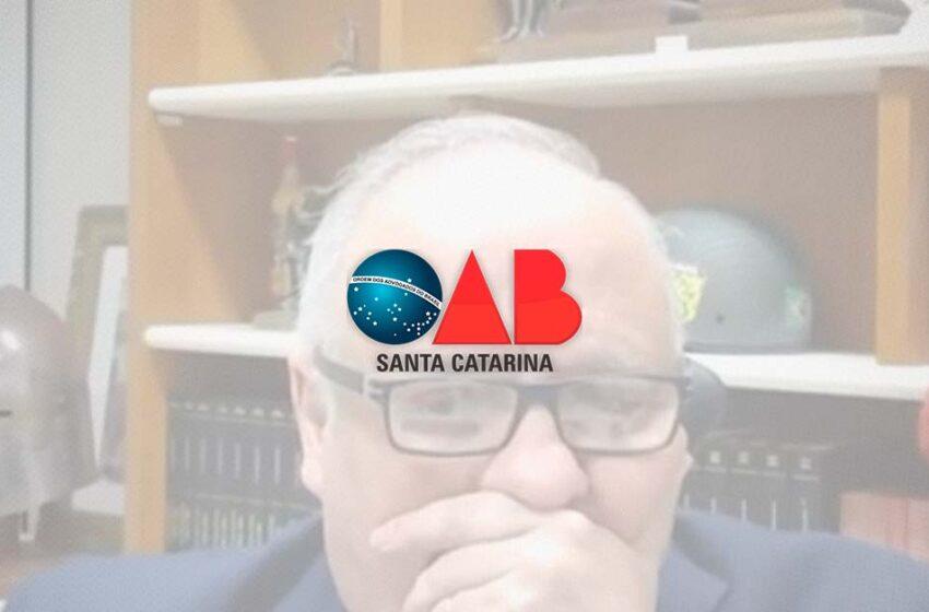 OAB/SC emite nota de repúdio contra desembargador que xingou em sessão