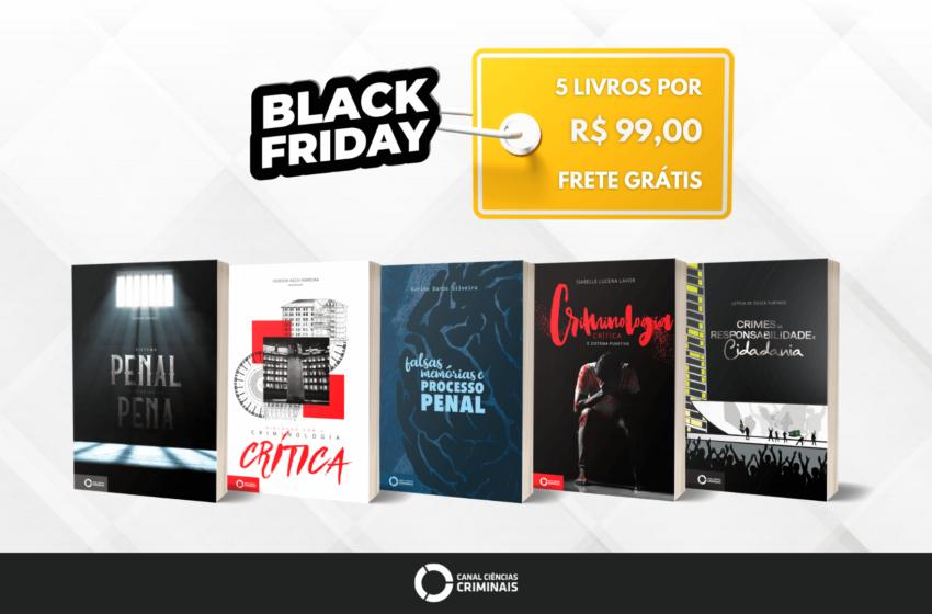 Últimos Kits da Black Friday: 5 livros por R$ 99,00